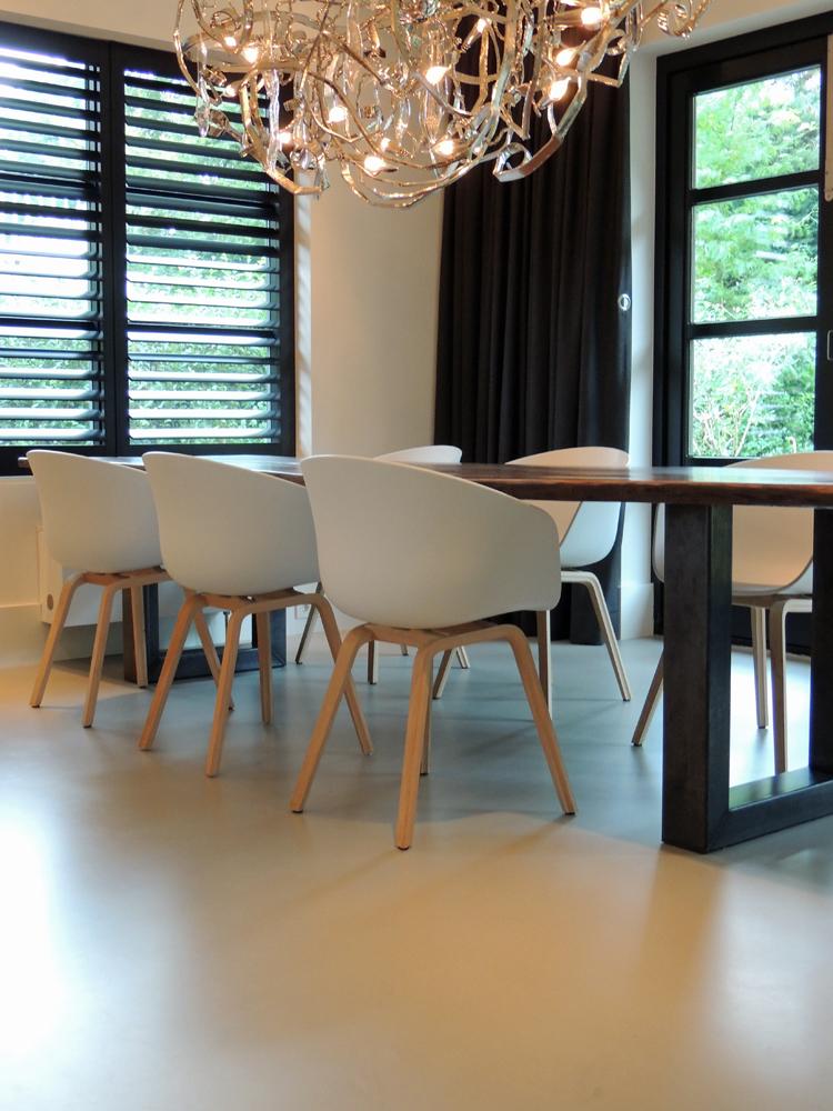 design gietvloer project woning