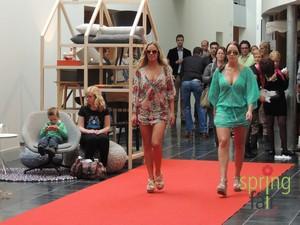 WoonModeShow met Krimpenfort Lingerie, Gorinchem